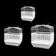 Cage-Accessory-Machine Seed Catcher-Guard Mesh-Net Fabric-Cover Bird Airy White-Supplies