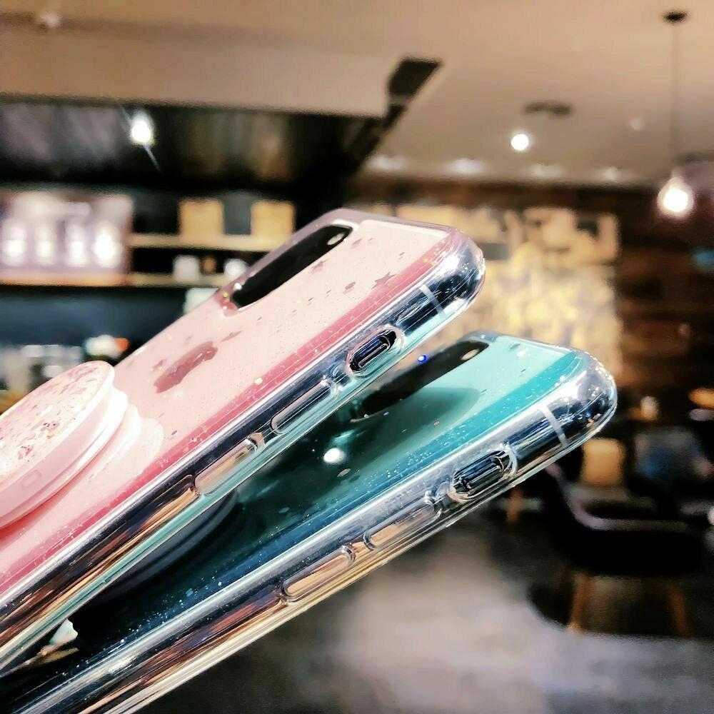 Unique Glitter Case for iPhone SE (2020) 49