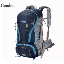 Free Knight 45L Climbing Hiking Molle Backpack Waterproof Rucksack Camping Trekking Mountaineering Backpack Sport Travel Bag