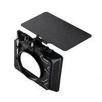 Hontoo 4*4 / 4*5.65 caixa matte da fibra do carbono (braçadeira sobre) leve com/95mm  86mm  74mm 72mm 67mm anel adaptador da lente forbmpcc 4k a7