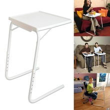 Simple Fashion Multifunction Folding Laptop Table Height Adjustment Computer Desk Beside Bed Sofa Portable Laptop Table