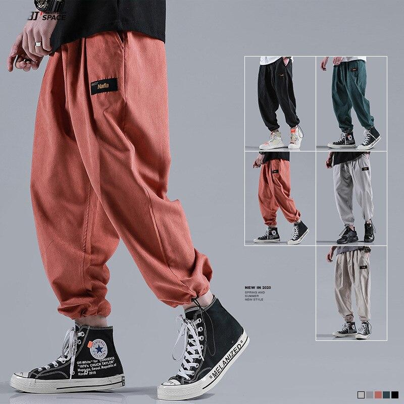 2020 Quality Men's Loose Beam Ankle Pants Harem Pants Fashion Casual Pencil Pants XL Sweatpants