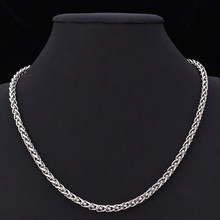 2020 New Sexy Autumn Men's Necklace Stainless Steel Cuban Link Chain Gold Black Silver Color Male Jewelry Gifts for Men Hot(China)