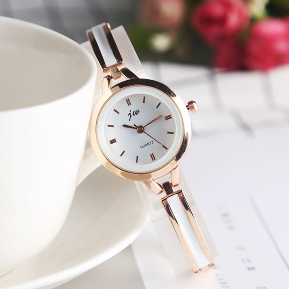 High Quality Women's Ultra-Thin Imitation Ceramic Strap Quartz Watch New Vcqy