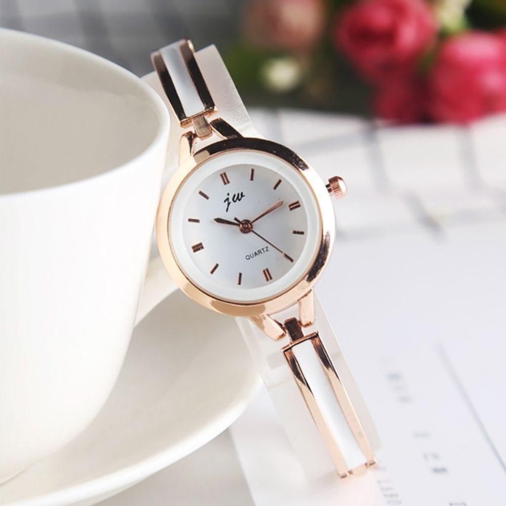 High Quality Women's Ultra-Thin Imitation Ceramic Strap Quartz Watch New Vcqy