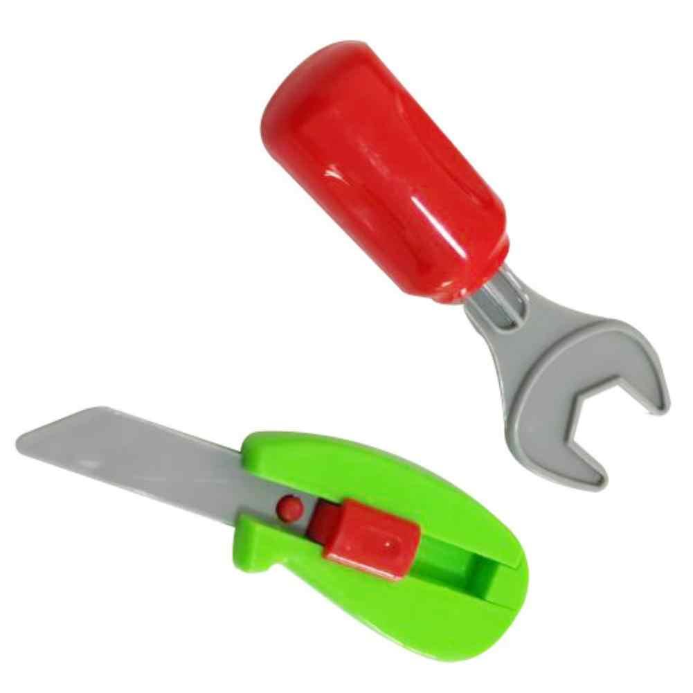 8 Stks/set Pretend Play Reparatie Tools Educatief Speelgoed Voor Jongens Meisjes Willekeurige Type Simulatie Reparatie Kit Speelgoed Kinderen Geschenken
