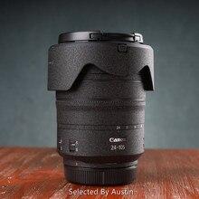Protetor de lente de decalque da pele, lente para canon RF24 105 f4 24 70 2.8l 70 200 2.8 é anti estojo de desgaste de arranhões