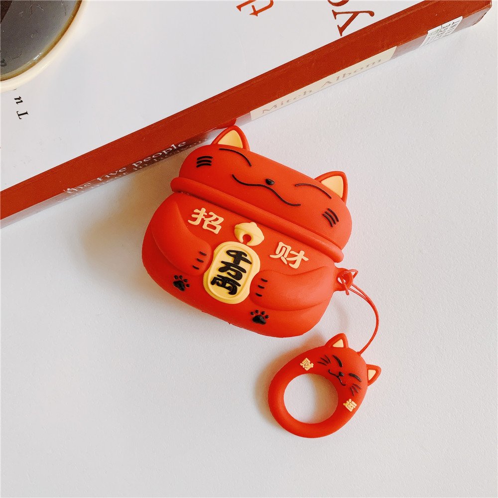 Lucky Cat Pro Case for AirPods Pro 35