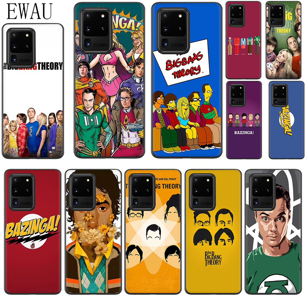 The <font><b>Big</b></font> <font><b>Bang</b></font> Theory Silicone <font><b>Case</b></font> for Samsung S10 Note 10 Lite S20 Plus Ultra A01 A11 A21 A41 A51 A71 A81 A91 image