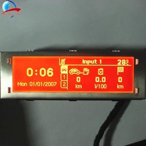 Image 1 - 12 PIN 4 เมนูจอแสดงผลหน้าจอสนับสนุน USB และบลูทูธสำหรับ Peugeot 307 407 408 Citroen C4 c5 ไม่มีควบคุม