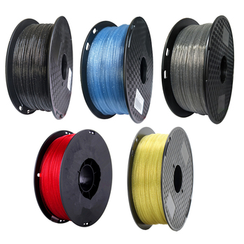 PLA Crystal Filaments 1.75 mm 1Kg /500g / 250g 3D Printer Filament Sparkle Shining 3D Printing Material Glittering PLA Filaments image