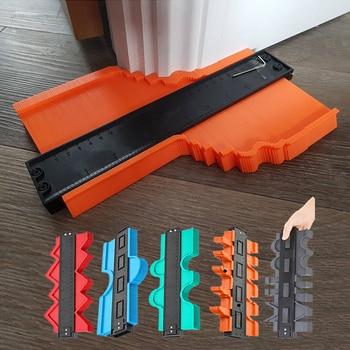 12/14/25/50cm Multi-functional Contour Gauge Tiling Laminate Tiles Edge Shaping Wood Measure Ruler Tiles Laminate Tiles Tool