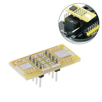 1pc 2 WSON8 To DIP8 Programmer Adapter Board QFN8/DFN8 To DIP8 & WSON8/MLF8 To DIP8 Socket op37gp dip8 op37 op37g