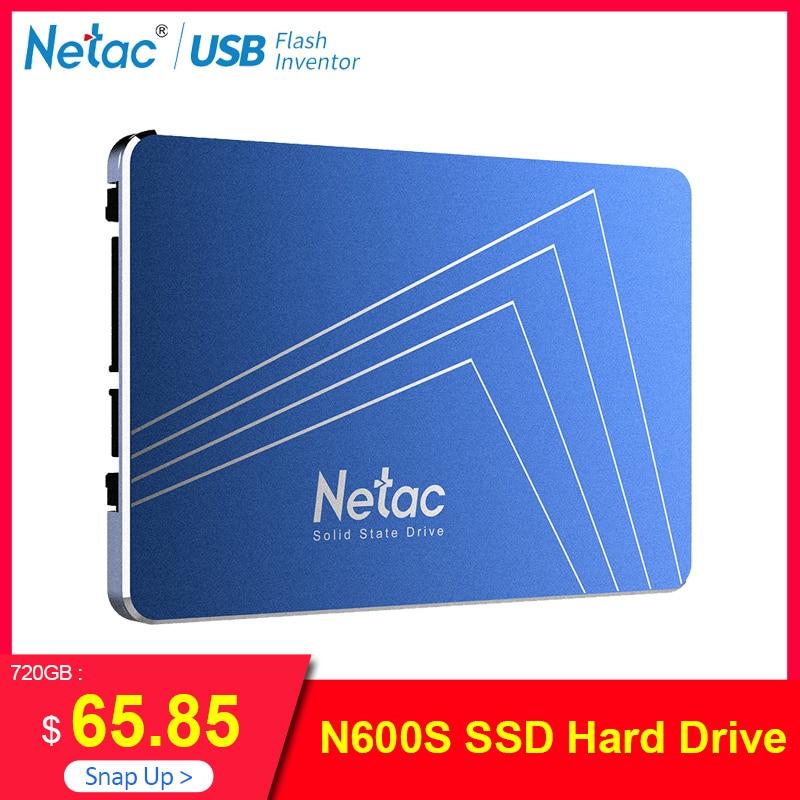 Netac SSD dysk twardy 1 TB SATA3 720 GB 720 GB TLC wewnętrzny dysk półprzewodnikowy 2.5 Laptop dysk twardy 1 TB dla Notebook komputer stancjonarny w Wewnętrzne dyski SSD od Komputer i biuro na AliExpress - 11.11_Double 11Singles' Day 1