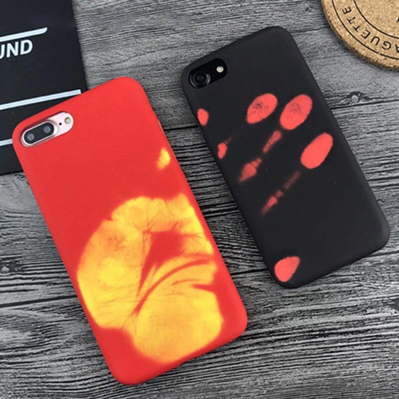 Indução de Calor térmico Caixa do telefone Para Huawei Companheiro P30 P20 Pro Lite 20 10 Pro Lite Tampa Do Telefone de Volta de proteção caso Shell térmica