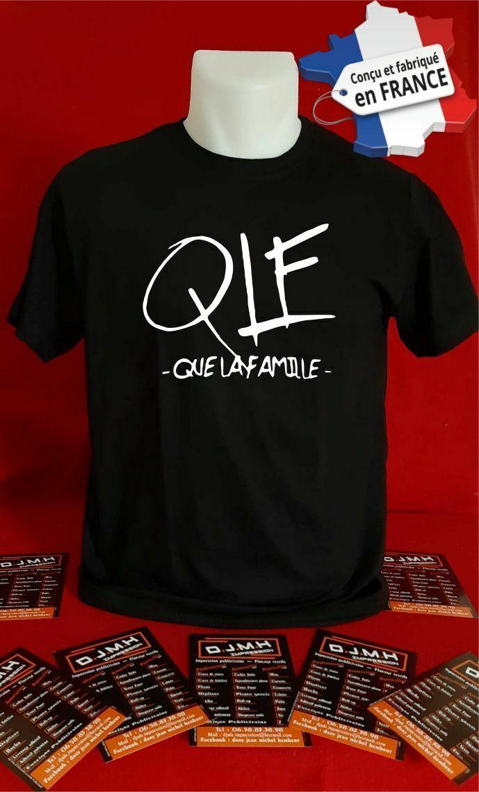 T Shirt Personnalise Chanteur Qlf Que La Famille Chanson Musique N007