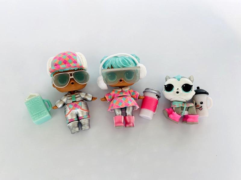 6pcs Green White /& Pink Bottles Feeding Bottle for LOL Surprise Pets Dolls
