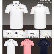 Новая одежда для гольфа мужская футболка с коротким рукавом Весна и лето быстросохнущая дышащая Повседневная Толстовка Одежда для гольфа