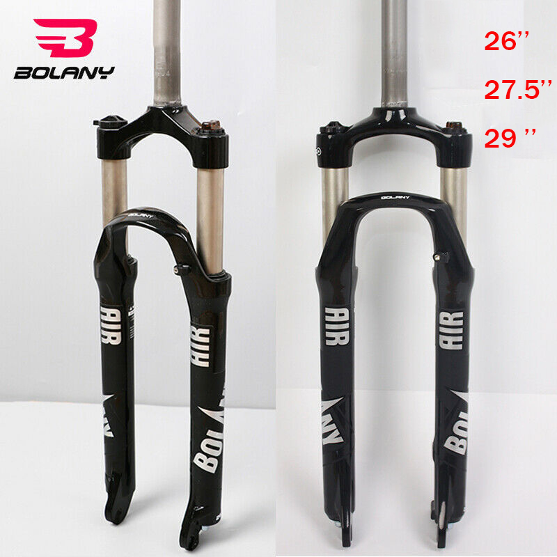 """26//27.5//29/"""" bolany Suspension Fork MTB Bike 100mm Shock Absorber Straight//Tapered"""