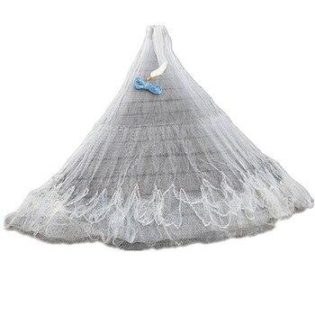 New H3.5m*D4m nylon net hand throw net fishing network cast net fish trap fishing net china round net senna red de pesca outdoor