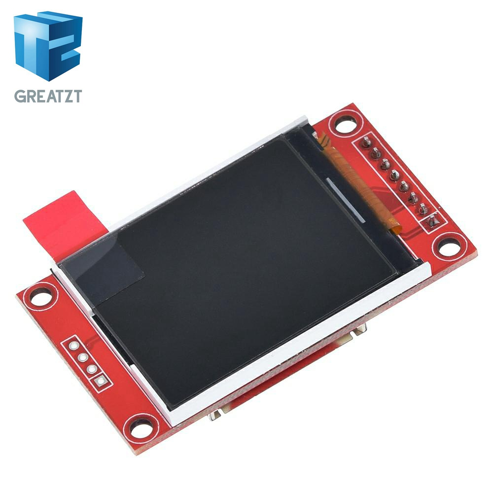 GREATZT 1.8 Inch TFT LCD Module LCD Screen Module SPI Serial 51 Drivers 4 IO Driver TFT Resolution 128*160 For Arduino