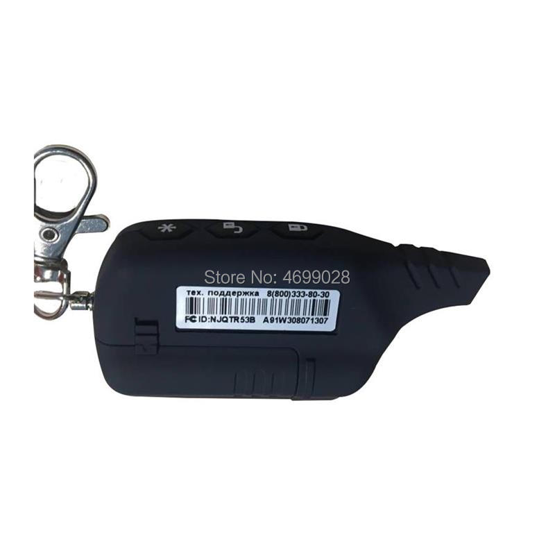 Cheap A91 Keychain 2-way LCD Remote Control For Russian Vehicle Security 2 Way Car Alarm System Starline A91 Key chain 2