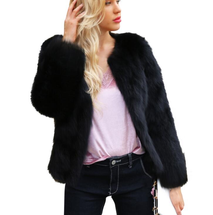 Autumn faux mink   leather   jacket womens winter Long sleeve short fur   leather   coat women slim jackets jaqueta de couro fashion