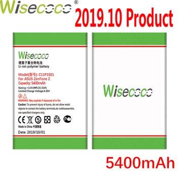 цена на WISECOCO 5400mAh C11P1501 Battery For Asus Zenfone 2 Laser Zenfone2 Laser ZE601KL Selfie ZE550KL ZE600KL ZD551KL Mobile Phone