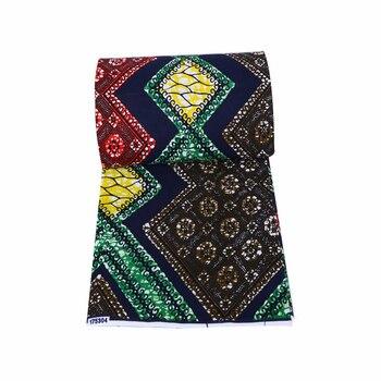 Ankara prints batik fabric real 2020 wax 100% cotton ghana wax Africain sewing material for dress 6yards top quality 2020 african wax batik prints fabric 100% cotton ankara kente real nigeria wax fabric best quality for dress 6yards