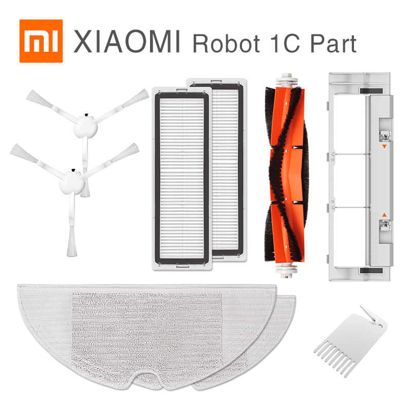 Main//Side Brush //Filter //Mop for Xiaomi Mijia 1C Sweeping Robot Vacuum Cleaner