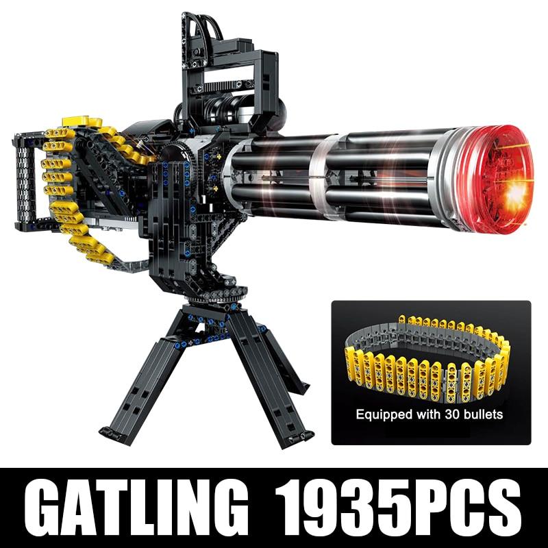 Yeshin PG15004 The MOC Gatling Machine Gun Model