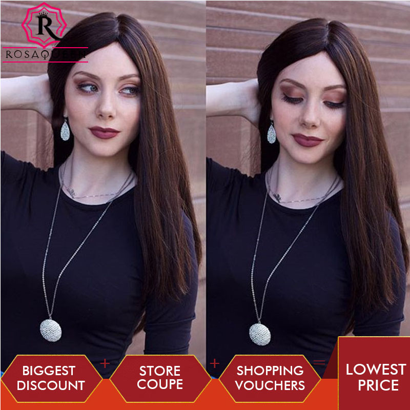 Jewish Wig Kosher Wig Unprocessed European Virgin Hair Silk Base Top Double Drawn Rosa Queen