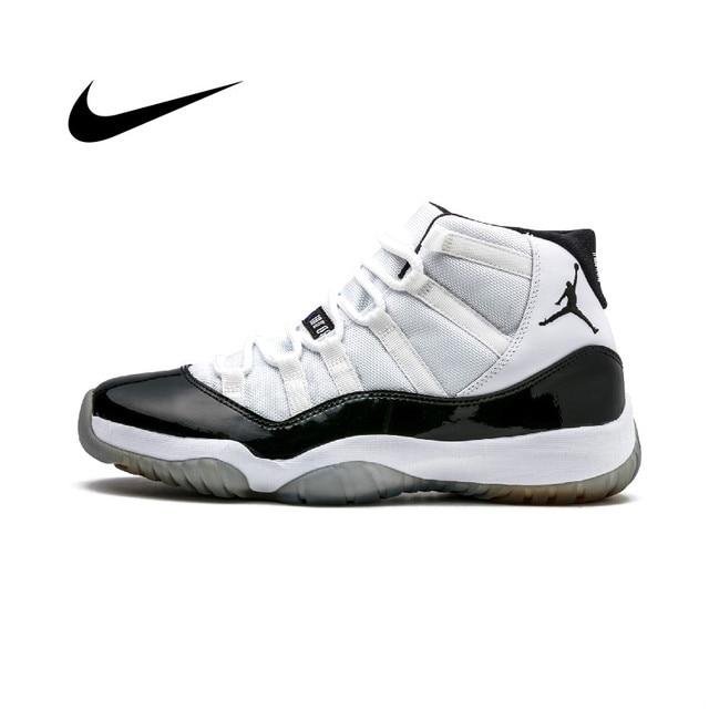 Original authentic Nike Air Jordan Retro 11 men's basketball shoes classic sports shoes quality sports shoes 378037