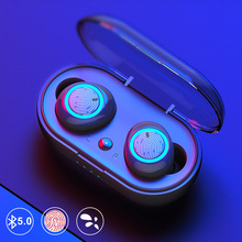 TWS Mini Wireless Earbuds Bluetooth Earphone Touch Control Stereo Handsfree With