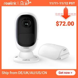 Image 1 - Reolink Argus 2 Full HD 1080P zewnętrzna wewnętrzna kamera IP akumulator zasilany z baterii Starlight Sensor kamera WiFi