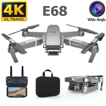 E68 RC 4K Drone HD Camera 1080P WiFi FPV Drone RC Helicopter