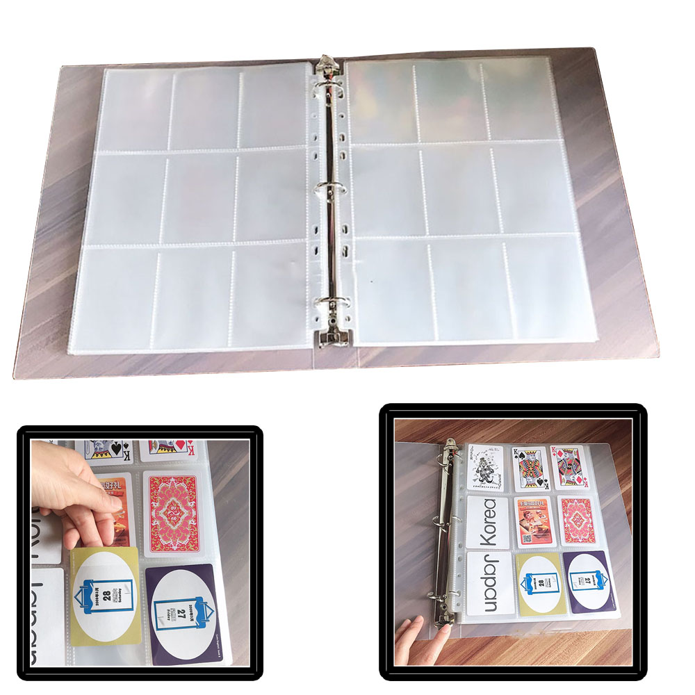 900 Capacity Cards Holder Albums With 50 pages For Pokemon MTG Magic Yu-Gi-Oh Cards Album book Sleeve Holder as a present