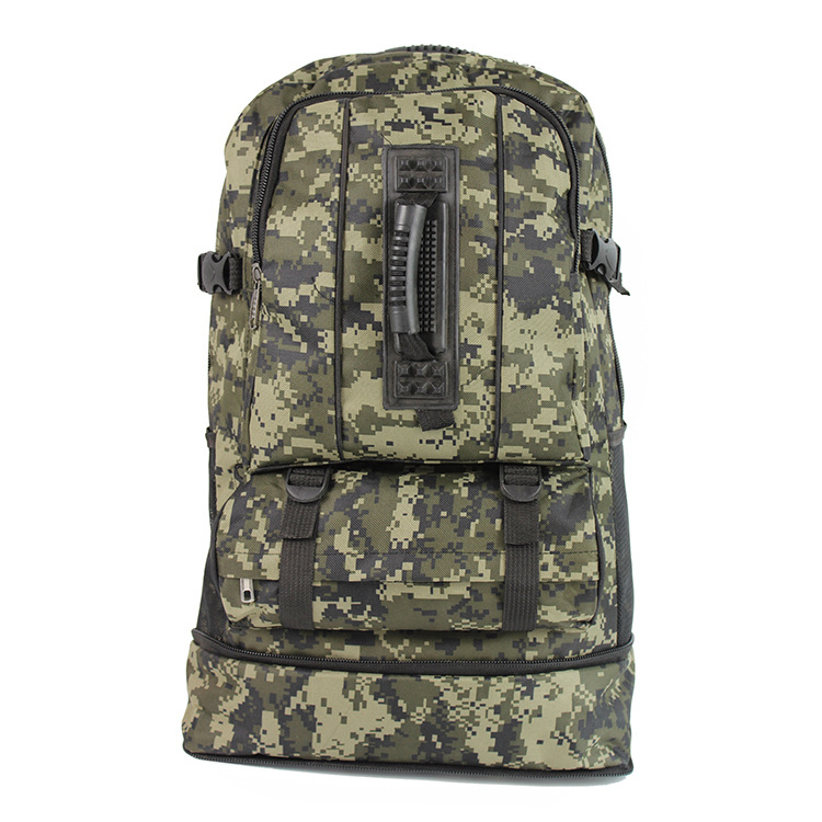 Camouflage Tactical Backpack Casual Large-Volume Mountaineering Bag Outdoor Sports Walking Travel Backpack