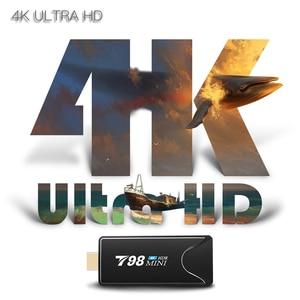 Image 3 - T98 MINI PC Dongle Miracast Bluetooth WIFI HDMI 4K Tv Stick Android 10,0 4G 32G Optional TV BOX