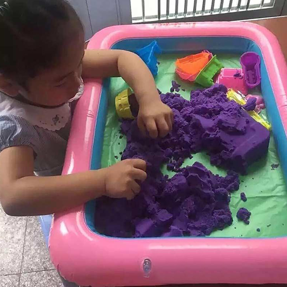 60x45cm Toys Inflatable Kids Gift Tools Child Intellect Interest Brain Power Develop Model Sand Tray