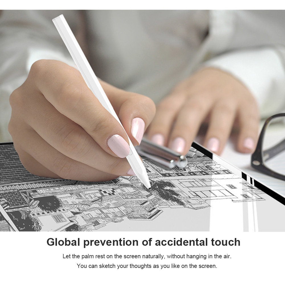 Smart Writer Tablet Touch Screen Stylus Pen Accessories Gift Magnetic Attachment Drawing Professional For IPad Mini 5th Gen