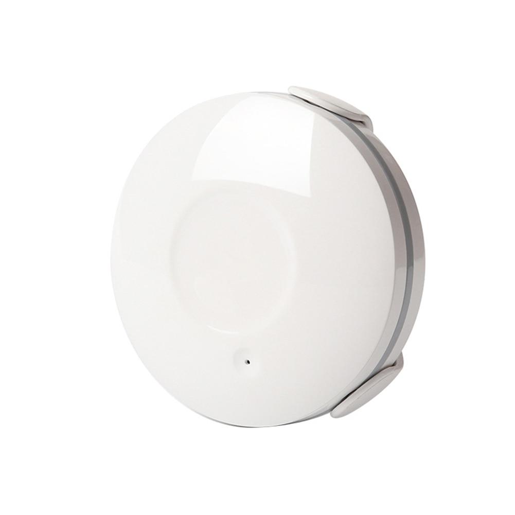 Practical Overflow Alarm APP Notification Bathroom Flood Detector Durable Security WIFI Water Leak Sensor Waterproof Portable