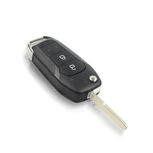 KEYYOU для Ford Ranger F150 2015 2018 ID49 чип 2 кнопки дистанционный Автомобильный ключ FSK EB3T 15K601 BA 433 МГц PCF7945P Ключ от авто      АлиЭкспресс
