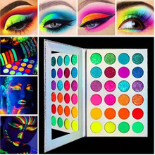 Glitter Makeup Eyeshadow-Palette Shimmereye Wholesale 24-Colors And Matte Glow-In-Dark