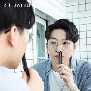 ZHIBAI Электрический триммеры для носа мини портативный триммер для носа уха черный Водонепроницаемый IPX7 Безопасный Очиститель для удаления