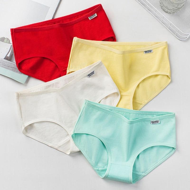 Woman Cotton Panties Female Physiological Pants Leak Proof Underpants Menstrual Lace Underwear Breathable Soft Lingerie Briefs 3