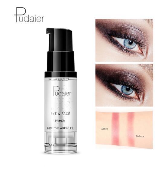 Pudaier 1PC 18ml Primer Makeup Maquillaje Eyes Gel Cream Liquid Smooth Lines Eyeshadow Facial Base Eye Shadow Foundation