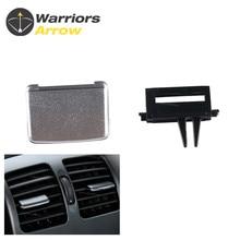 A/C Air Vent Outlet Tab Clip Repair Kit Silver For Mercedes-Benz W207 W212 E260 Auto parts air conditioning a c air vent outlet tab clip repair kit for vw sagitar