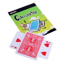 цена Converter - Card Magic Tricks (Random Card Number and Color) Illusions,Mentalism,Comedy Magician Gimmick онлайн в 2017 году