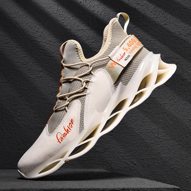 2019 Men Running Shoes Outdoor Lightweight Walking Sneakers Lace Up Trail Running Shoes Men Breathable Athletic Sneakers Brand
